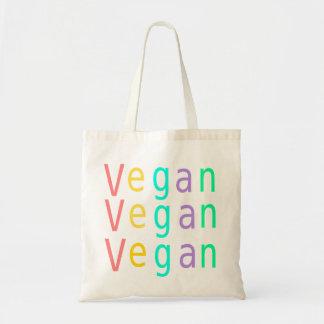 Vegano. los derechos de los animales. bolso de tot bolsa tela barata