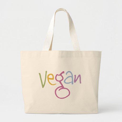 Vegano multicolor bolsa