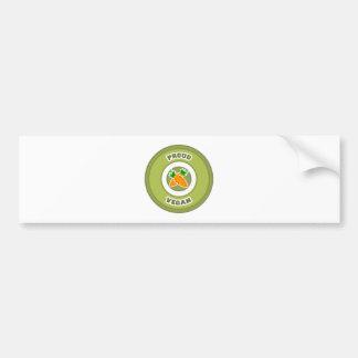 Vegano orgulloso etiqueta de parachoque