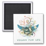 Vegano para la vida iman
