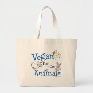 Vegano para los animales bolsas