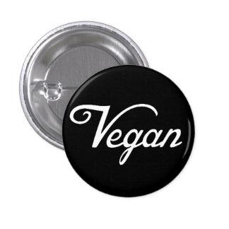 Vegano Pin Redondo De 1 Pulgada