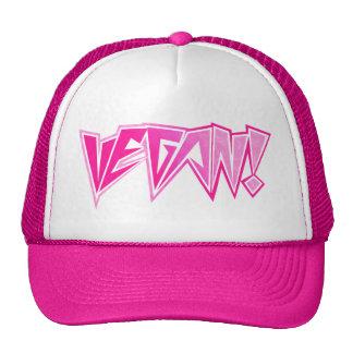 Vegano rosado del eje de balancín gorras