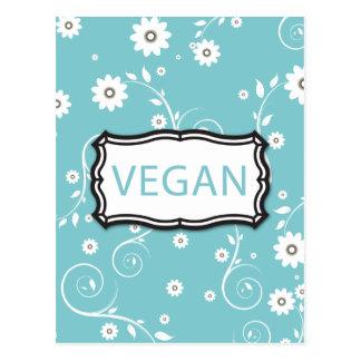 Vegano Tarjeta Postal