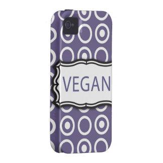 Vegano Vibe iPhone 4 Fundas