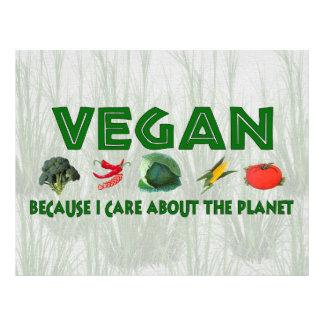 Veganos para el planeta flyer a todo color