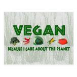 Veganos para el planeta postal