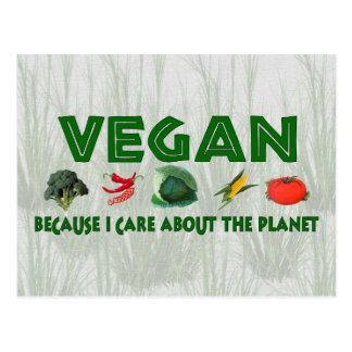 Veganos para el planeta postales