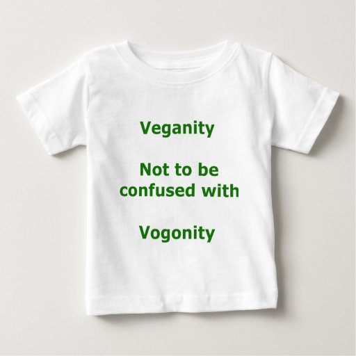 Vegans and Vogons Baby T-Shirt