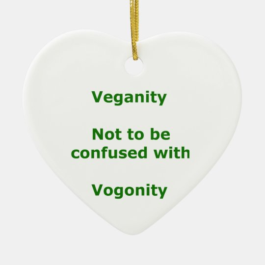 Vegans and Vogons Ceramic Ornament