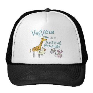 Vegans are Animal Friendly Trucker Hat
