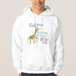 Vegans are Animal Friendly Hoodie