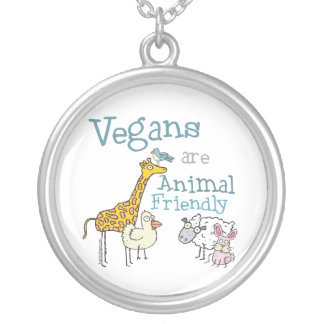 Vegans are Animal Friendly Necklace