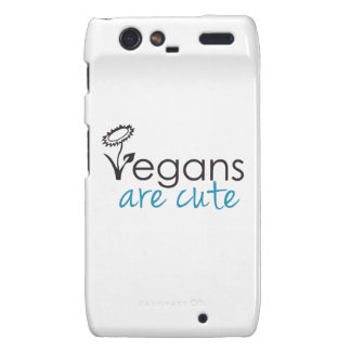 Vegans are Cute - An Advocates Custom Design Droid RAZR Covers