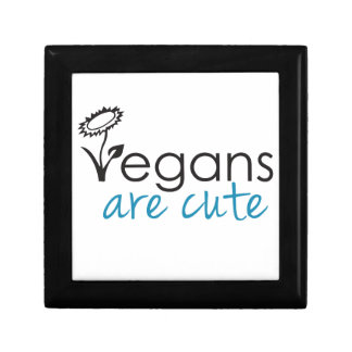 Vegans are Cute - An Advocates Custom Design Gift Box