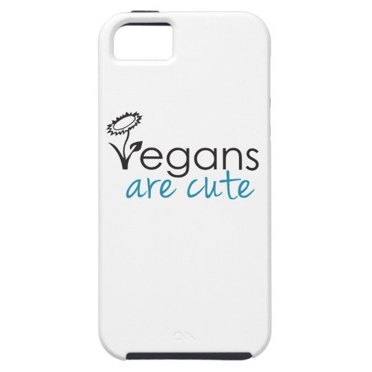 Vegans are Cute - An Advocates Custom Design iPhone SE/5/5s Case