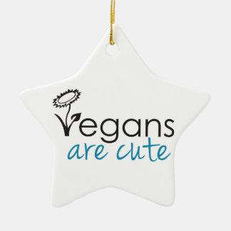 Vegans are Cute - An Advocates Custom Design Ornaments