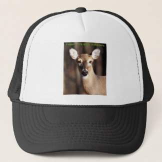 Vegans Are Good Listeners Gifts & Apparel Trucker Hat