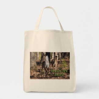 Vegans Are Sassy! Whitetail Deer Gifts & Apparel Tote Bag