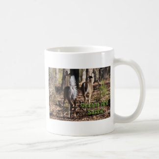 Vegans Are Sassy! Whitetail Deer Gifts & Apparel Coffee Mugs