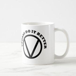 Vegans Do It Better Coffee Mug