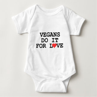 Vegans Do It For Love Vegan Baby Baby Bodysuit