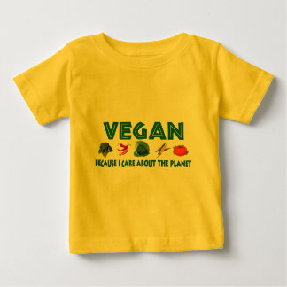 Vegans For The Planet Baby T-Shirt