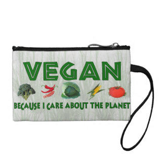 Vegans For The Planet Coin Purse