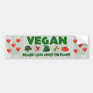 Vegans for the Planet Bumper Stickers