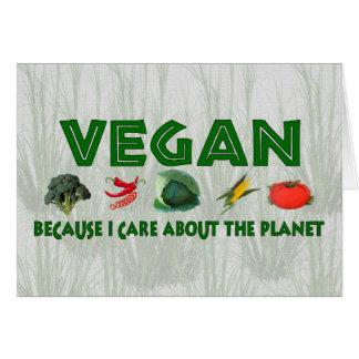 Vegans for the Planet Card