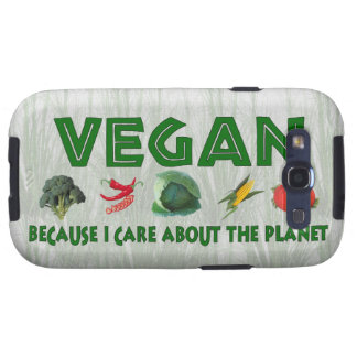 Vegans for the Planet Galaxy S3 Cover