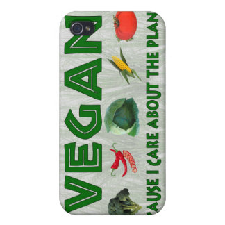 Vegans for the Planet iPhone 4 Cases
