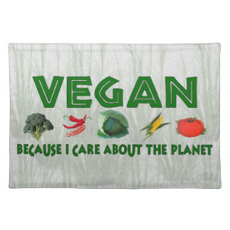 Vegans For The Planet Placemat