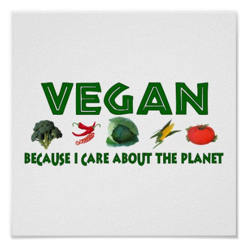 Vegans For The Planet Posters