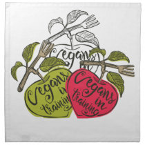 Vegans In Training Products Cloth Napkin