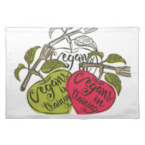 Vegans In Training Products Cloth Placemat