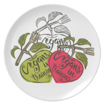 Vegans In Training Products Dinner Plate