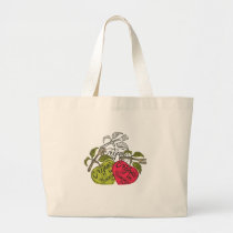 Vegans In Training Products Large Tote Bag