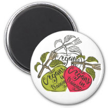 Vegans In Training Products Magnet
