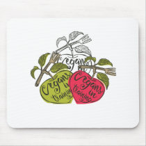 Vegans In Training Products Mouse Pad