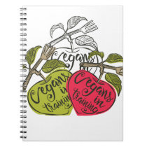 Vegans In Training Products Notebook