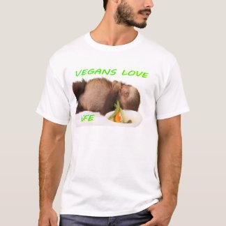 vegans love life , slothie T-Shirt