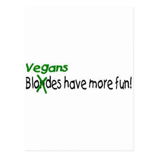 Vegans Postcard