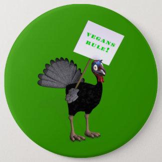 Vegans Rule! Button