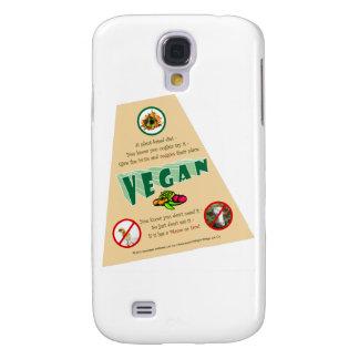 VeganT-ángulo-transporte Samsung Galaxy S4 Cover
