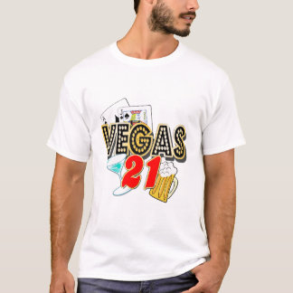 Vegas 21st Birthday T-Shirt