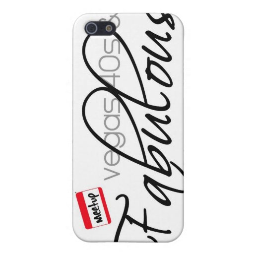 Vegas 40s & Fabulous Cases For iPhone 5