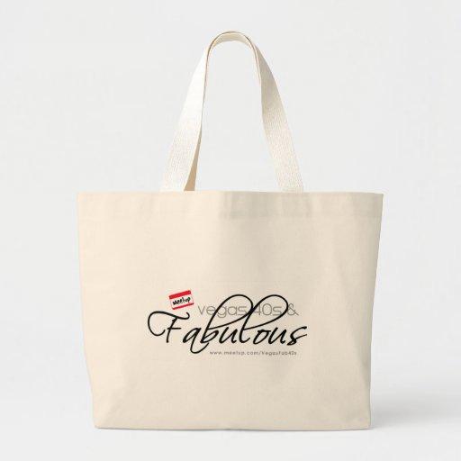 Vegas 40s & Fabulous Jumbo Tote Bag