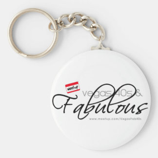 Vegas 40s & Fabulous Keychain