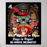 """Vegas así que va el poster incógnito 40"""" X 48"""" ve"""